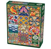 Cobble Hill Puzzles Cobble Hill Twelve Days of Christmas QuiltPuzzle 1000pcs