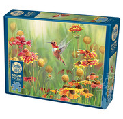 Cobble Hill Puzzles Cobble Hill Rufous Hummingbird Puzzle 500pcs
