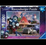 Ravensburger Ravensburger Disney Pixar Onwards Brothers Puzzle 100pcs XXL
