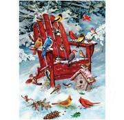 Cobble Hill Puzzles Cobble Hill Adirondack Birds Puzzle 1000pcs