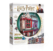 Wrebbit Wrebbit Harry Potter Diagon Alley Collection: Quality Quidditch Supplies™ and Slug and Jiggers™ Puzzle 305pcs