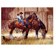 Cobble Hill Puzzles Cobble Hill Back to the Barn Puzzle 1000pcs