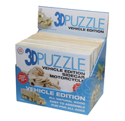 Toysmith 3D Puzzle Vehicle Assortment