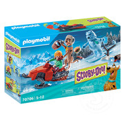 Playmobil Playmobil SCOOBY-DOO! Adventure with Snow Ghost