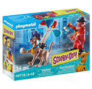 Playmobil Playmobil SCOOBY-DOO! Adventure with Ghost Clown
