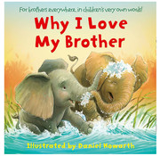 Harper Collins Why I Love My Brother Board Book