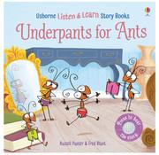 Usborne Books Listen & Read Story Books: Underpants for Ants