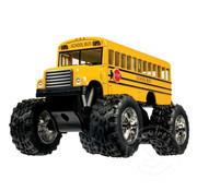 Toysmith Pull Back Monster School Bus