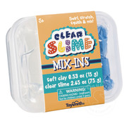 Toysmith Mix-Ins Clear Slime