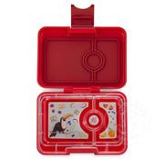 Yumbox YumBox Mini Snack 3 Compartment - Wow Red