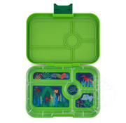 Yumbox YumBox Tapas 5 Compartment - Go Green