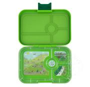 Yumbox YumBox Tapas 4 Compartment - Go Green