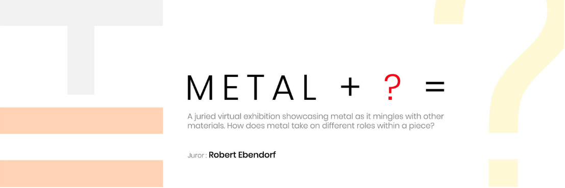 """""""Concrete Ring, No. 5"""" was selected for an Virtual Exhibition """"METAL + ? ="""" by Splop Design."""
