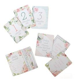 Itzy Ritzy Milestone Cards - Floral
