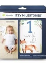 Itzy Ritzy Milestone Cards - Woodland