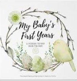 Baby Milestone Book - Wonderland