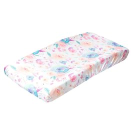 Copper Pearl Bloom Changing Pad Cover Copper Pearl