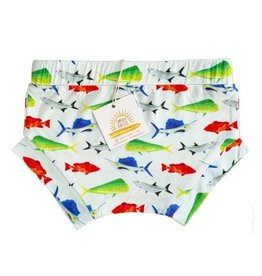 Florida Kid Co. Fish Bamboo Bummie