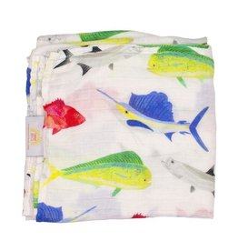 Florida Kid Co. Fish Swaddle