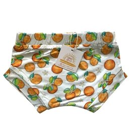 Florida Kid Co. Orange Blossom Bamboo Bummie