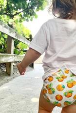 Florida Kid Co. Orange Blossom Bamboo Bummie