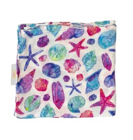 Florida Kid Co. Seashell Swaddle