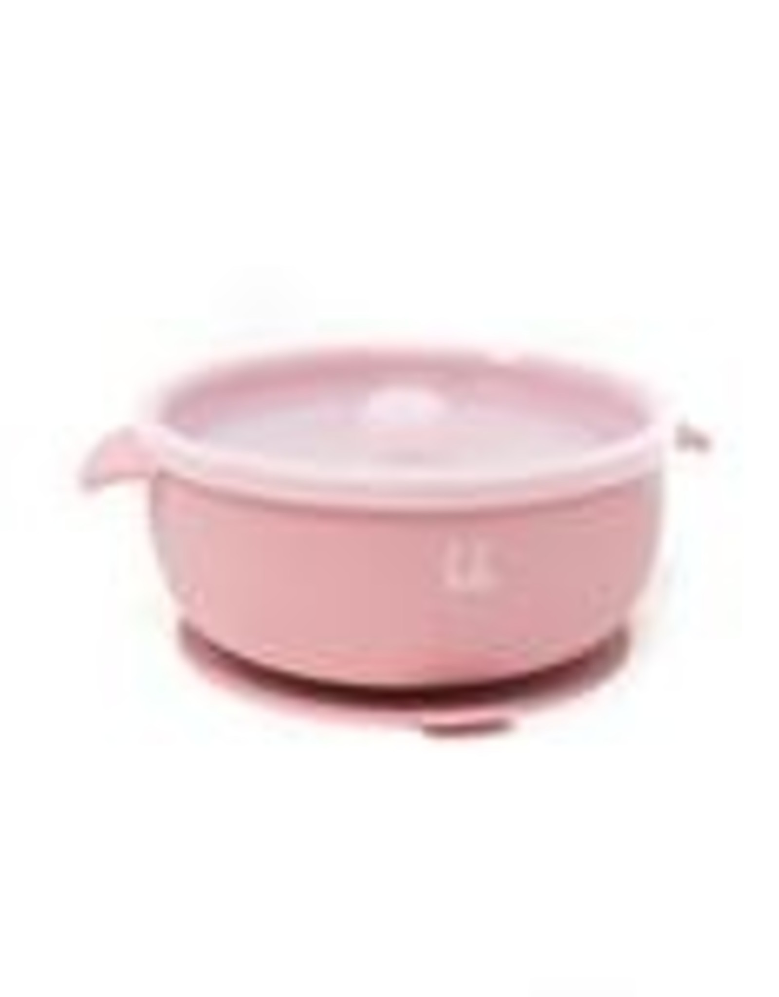 Three Hearts Silicone Suction Bowl w/ Lid (Baby Bar)