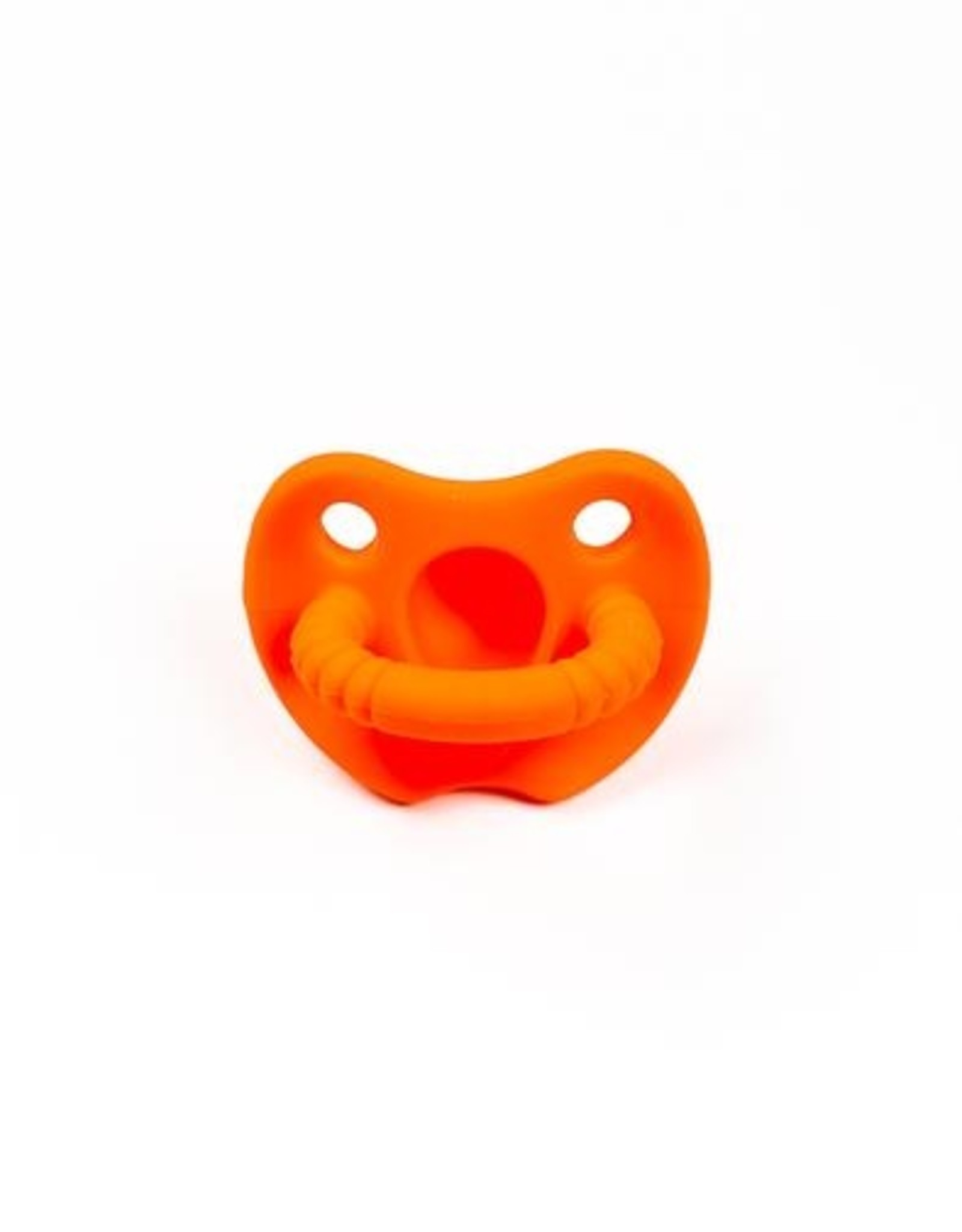 Three Hearts Silicone Soothers (1 ROUND PACIFIER)