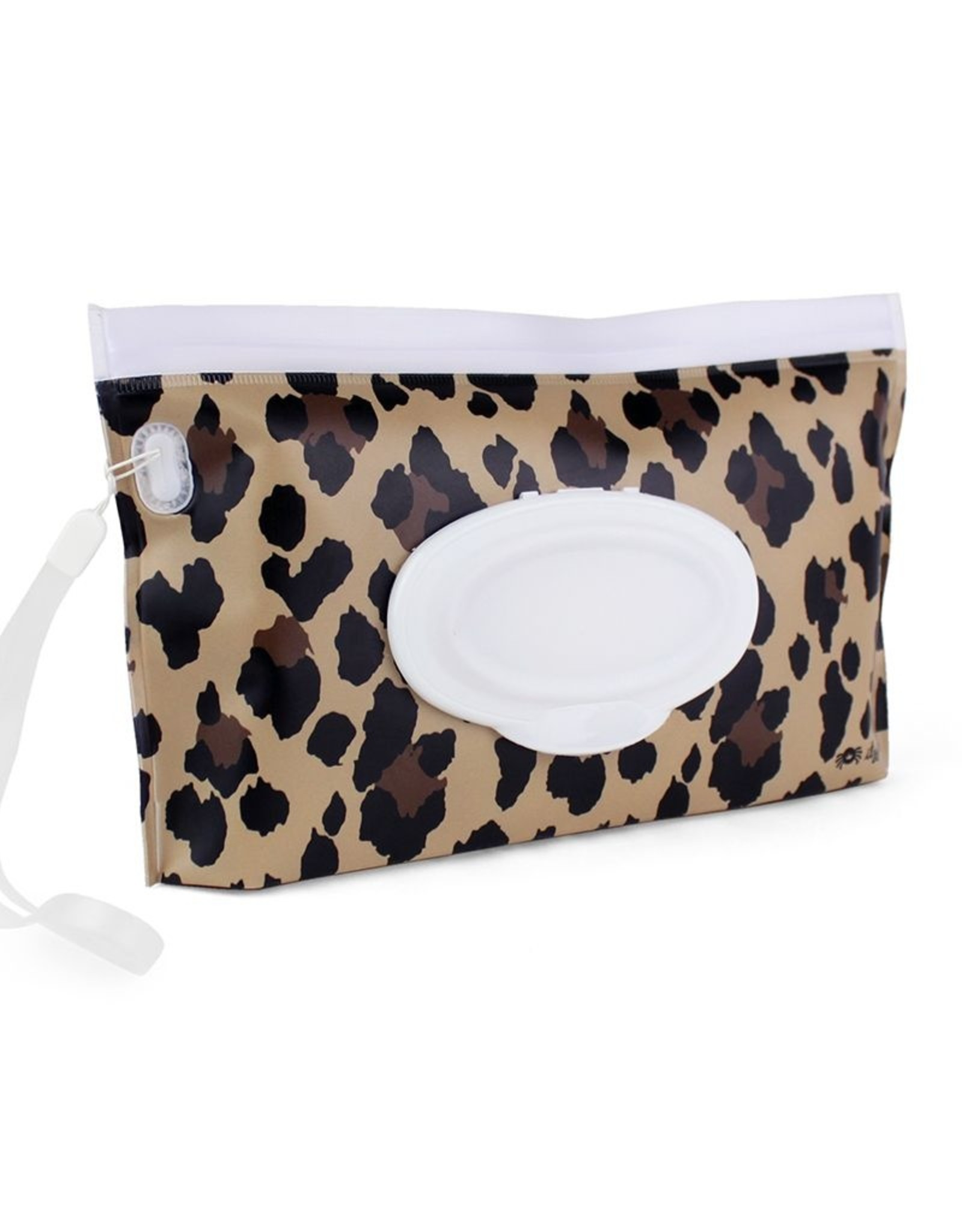 Leopard Itzy Ritzy Reusable Wipe Pouch Includes Silicone Wristlet Strap Take /& Travel Pouch Holds Up To 30 Wet Wipes