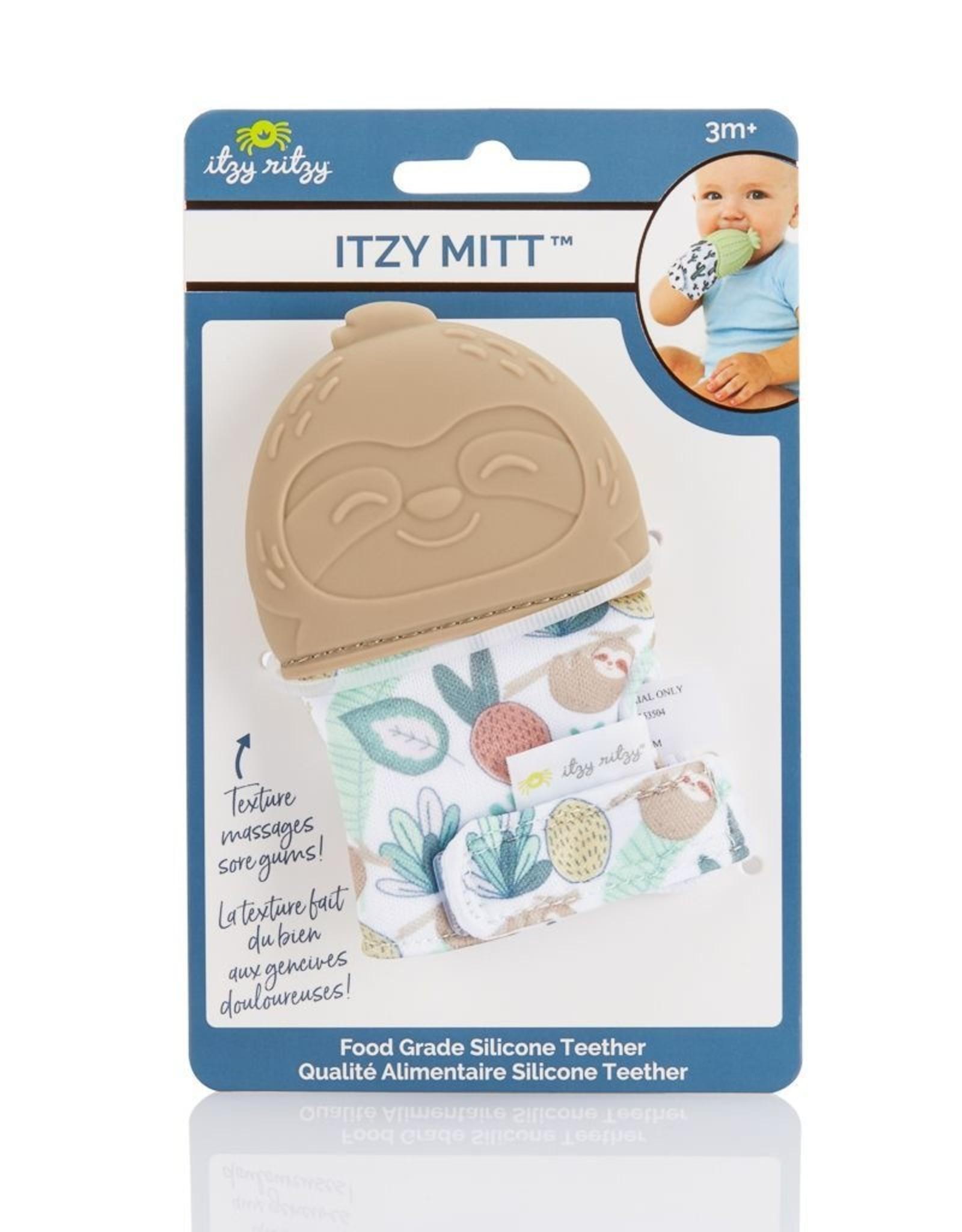 Itzy Ritzy Teething Mitt - Sloth