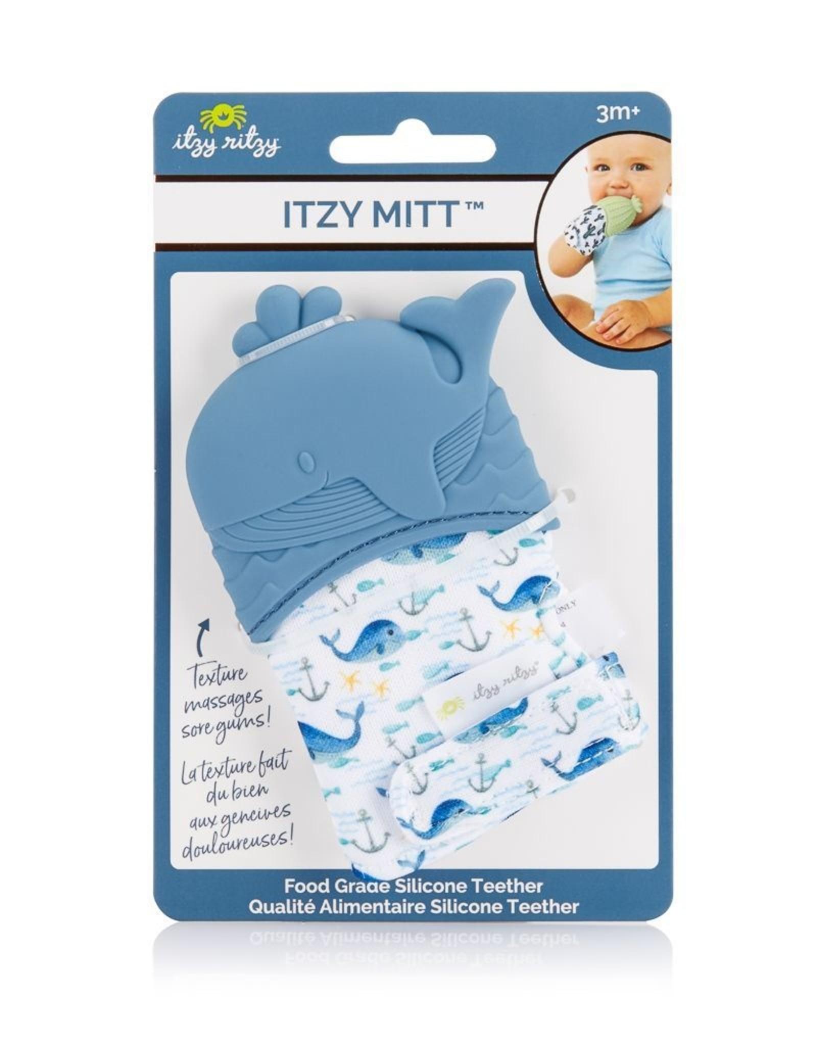 Itzy Ritzy Teething Mitt - Whale