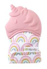 Itzy Ritzy Teething Mitt- Pink Unicorn