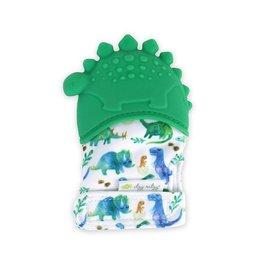 Itzy Ritzy Teething Mitt - Dinosaur
