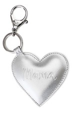 Itzy Ritzy Mama Heart Charm Silver