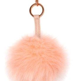 Itzy Ritzy Blush Pouf Keychain