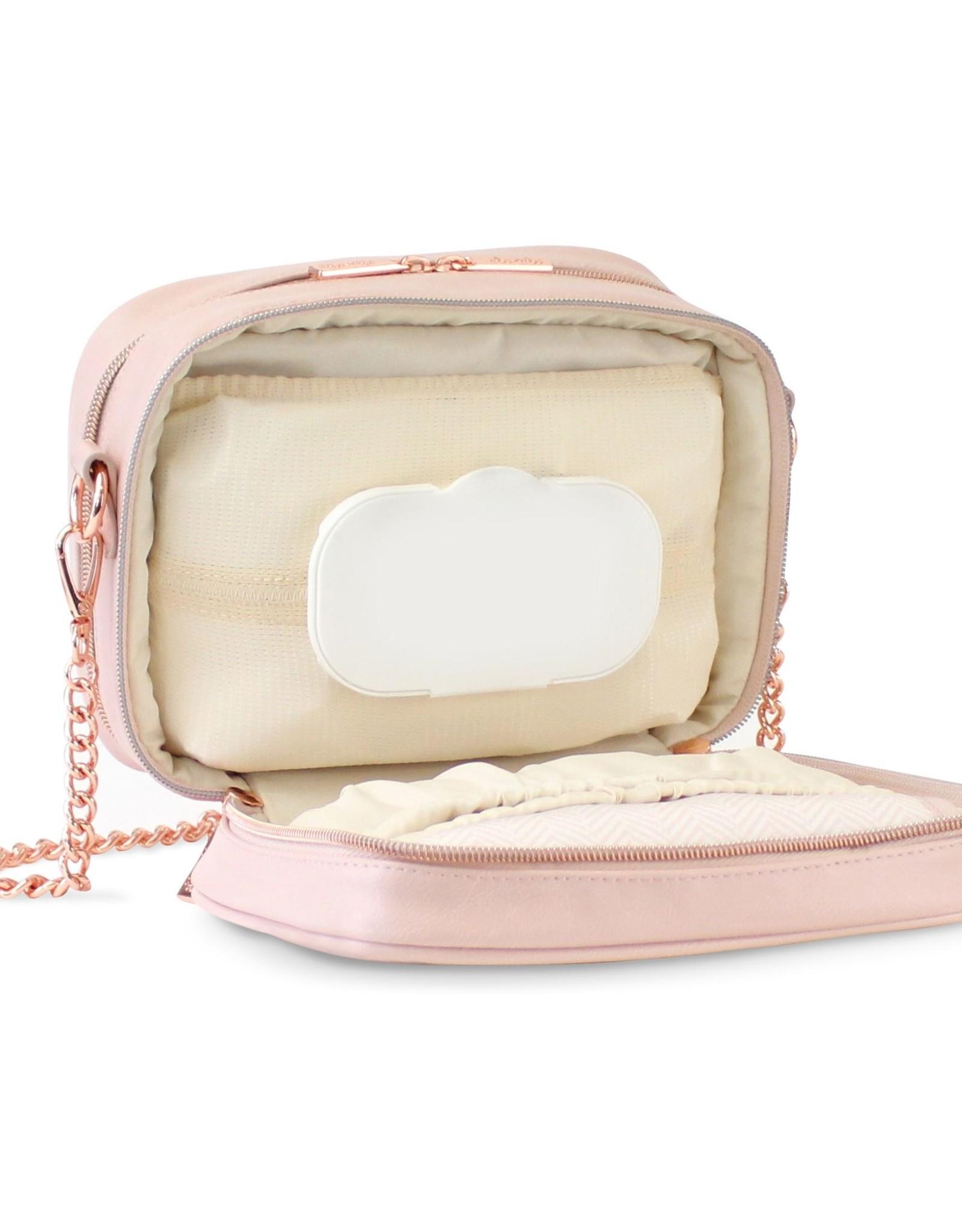 Itzy Ritzy Blush Crossbody Diaper Bag