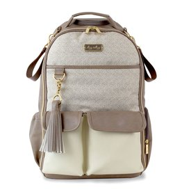Itzy Ritzy Vanilla Latte Boss Backpack Diaper Bag