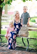 Itzy Ritzy Taupe MINI Backpack Diaper Bag