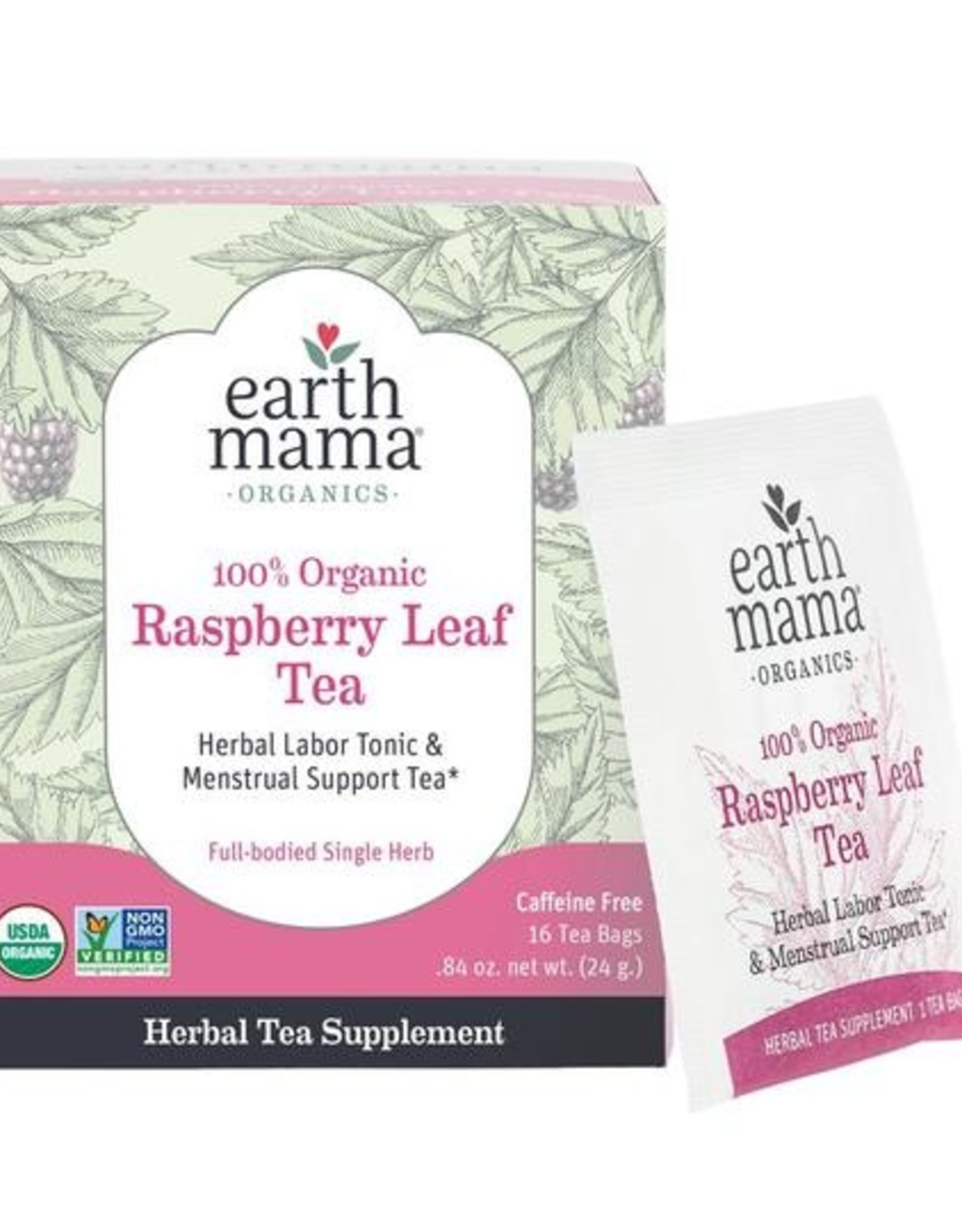 Earth Mama Organics Organic Raspberry Leaf Tea