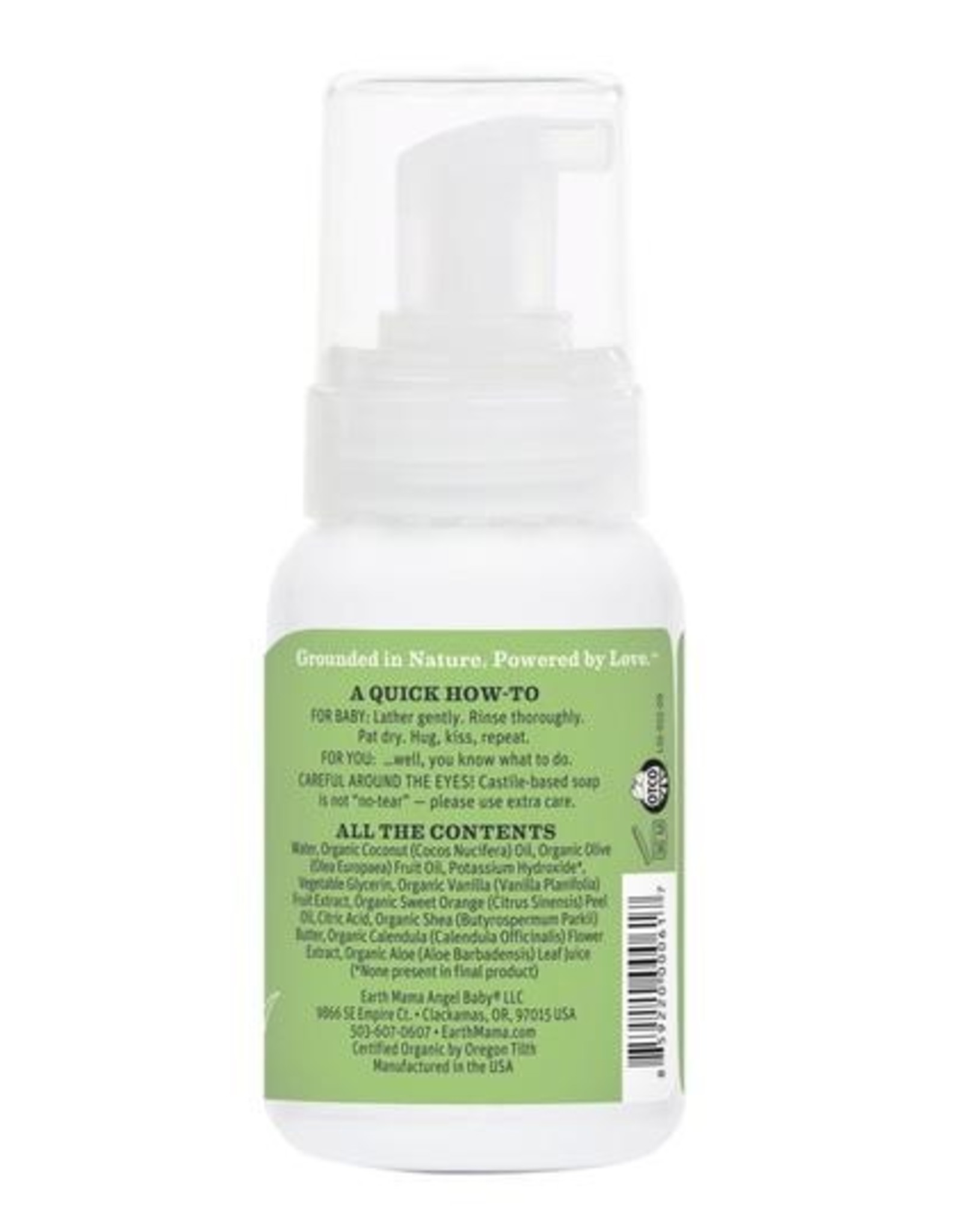 Earth Mama Sweet Orange Baby Wash (5.3 fl. oz)