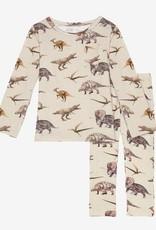 Posh Peanut Vintage Dino Loungewear 2T