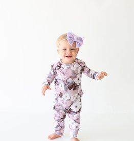 Posh Peanut Nikki Ruffled Basic Romper 12-18 months