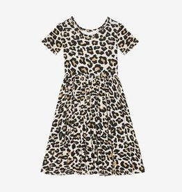 Posh Peanut Lana Leopard Toddler Twirl Dress