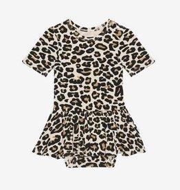 Posh Peanut Lana Leopard Twirl Skirt Bodysuit
