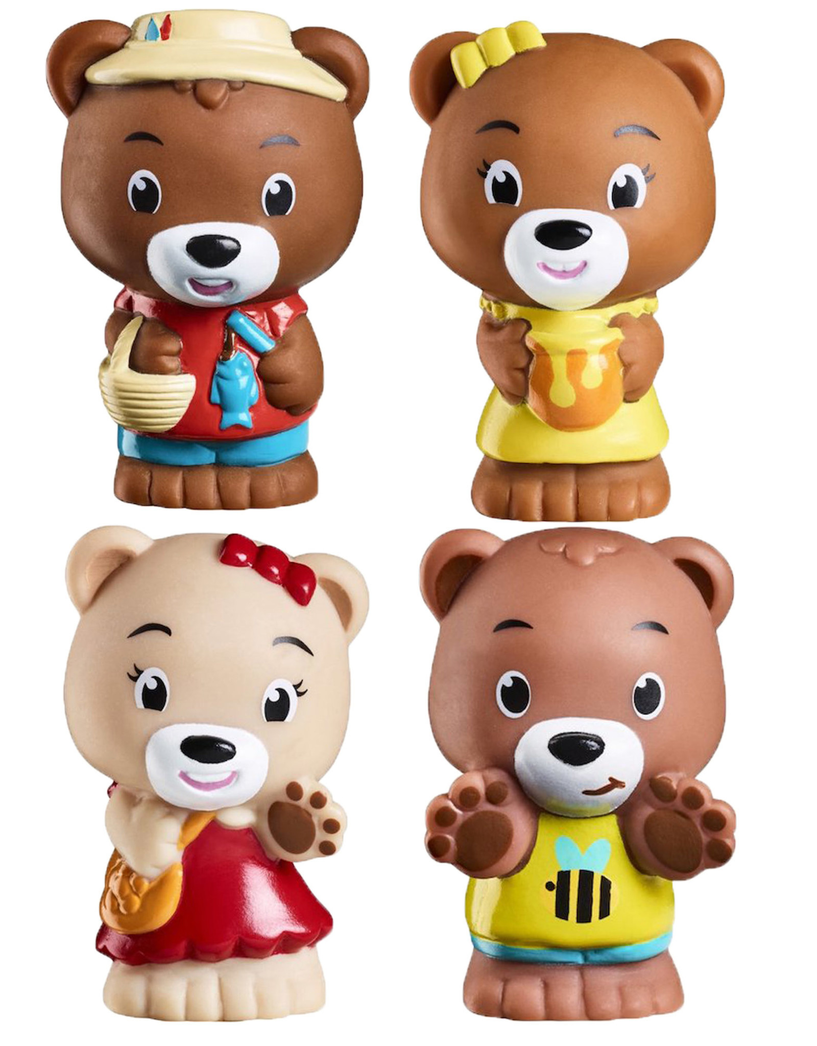 Fat Brain Toy Co Timber Tots Pawpaw Family set of 4
