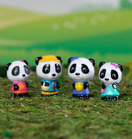 Fat Brain Toy Co Timber Tots Panda Family Set of 4