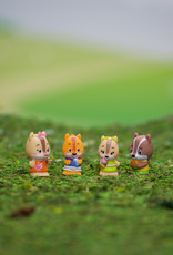 Fat Brain Toy Co Timber Tots Nutnut Family set of 4