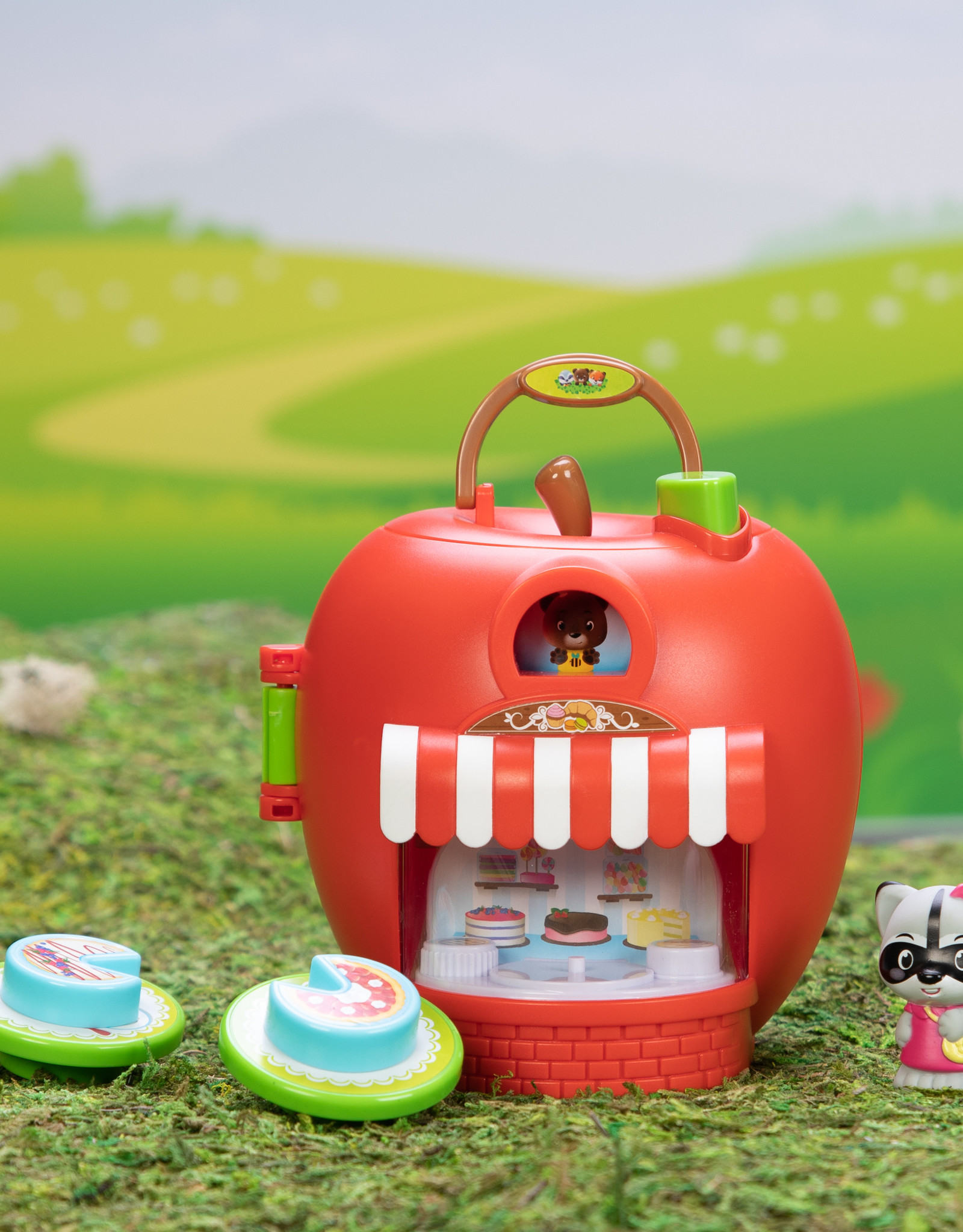 Fat Brain Toy Co Timber Tots Apple Delight Bakery