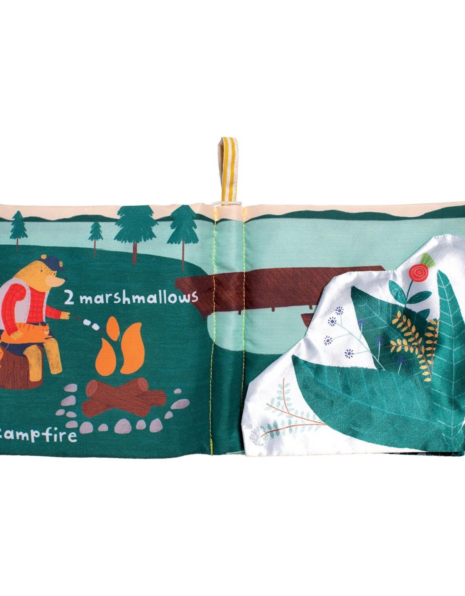 Manhattan Toy Lemon the Bear Goes Camping Book