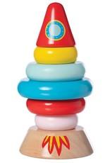 Manhattan Toy Magnetic Wood Stacker Rocket